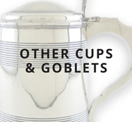 Sterling Cups and goblets