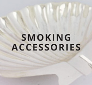 Sterling smoking accessories