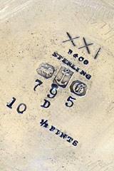 Sterling silver trademark