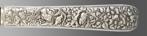 Handle Image of Pattern Floral-Electroplate by Tiffany