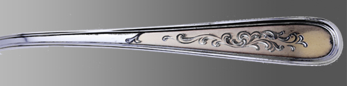 golden-calvert-engraved by kirk at Beverly Bremer Silver Shop