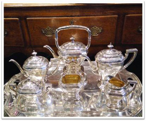 Silver tea set appraisal