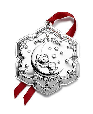 #92084 - Ornaments by Empire 2019 BABY'S FIRST CHRISTMAS TEDDY BEAR ORNAMENT