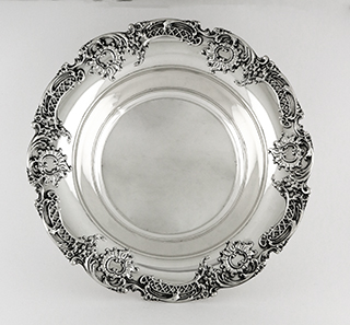 #93799 - Bowls by All Makers WHITING #5593 SCROLL BORDER