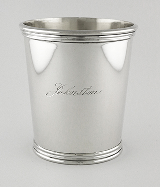 #93800 - Julep Cups, ESTATE by All Makers MANCHESTER #895 mono Johnston