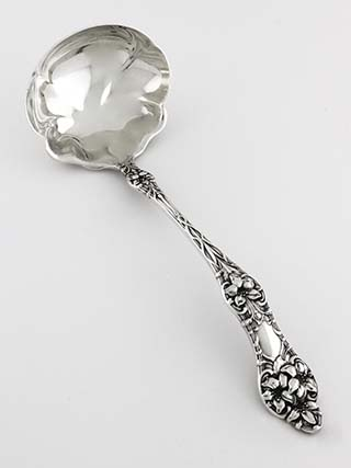 #25591 - Orange Blossom, Old by Alvin CREAM SAUCE LADLE