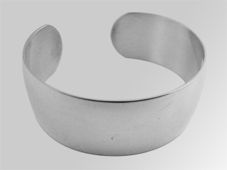 #14558 - Bracelets by C Thomae & Sons CT #T3535 WIDE CUFF PLAIN