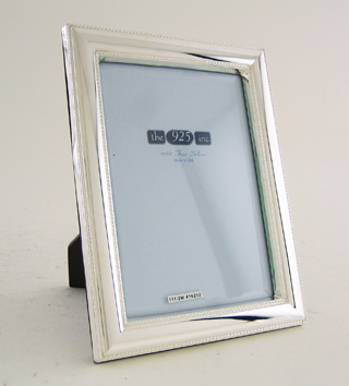 #16202 - Frames by 925 Inc. #111/2W 5X7 BD.WOOD BK; Sh-G