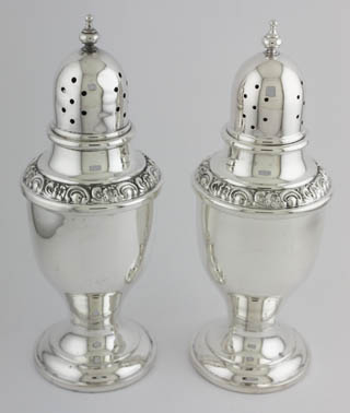 #20942 - Salt & Pepper Shakers by All Makers NEWPORT #1146 SCROLL BORDER PR