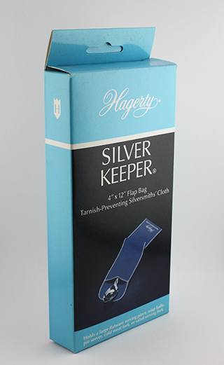 #22219 - Tarnish Resistant Bags by All Makers HAGERTY 4X12 FLATWARE BAG W/FL