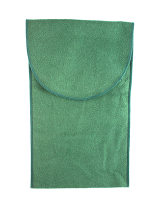 #34721 - Tarnish Resistant Bags by All Makers BB 6X10 GOBLET BAG GREEN
