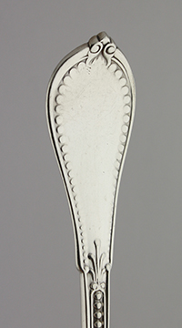 #36830 - Coin Silver by Maker COIN SILVER BERRY SPOON