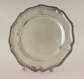 #38450 - Service Plates by All Makers SET OF 12 GADROON/ENGLISH