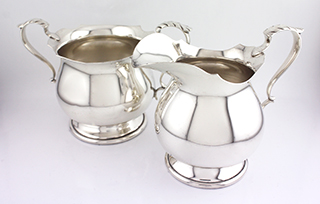#50487 - Cream And Sugar Sets by All Makers B & M #210