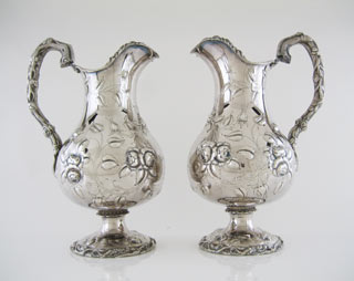 #51692 - Water Pitchers by All Makers HIMMEL COIN PR W/VINES C 1874