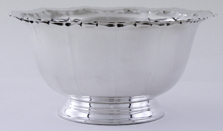 "#54954 - Bowls by All Makers TUTTLE ""CONCORD"" FLUTED REVERE"