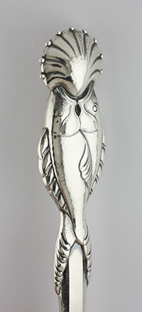 #59667 - Dolphin by Georg Jensen JENS #55 PR DOLPHIN FISH SERVE