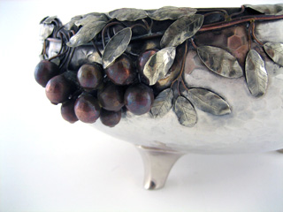 #60956 - Mixed Metal by All Makers GORHAM #1725 C1883 SM CHERRIES