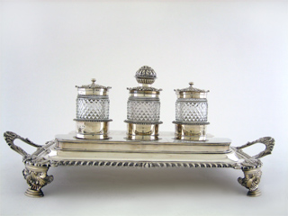 #66321 - Inkstands by All Makers GEO.III C1814 HENNELL/TERRY