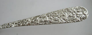 #78724 - Repousse by American Maker ICE CREAM SERVER ALL SILVER