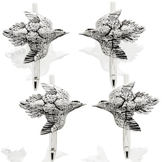 #84070 - Cufflinks by Grainger Mc Koy STUD SET DOVE #134/13701