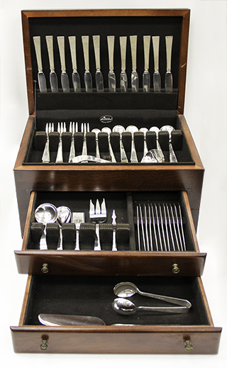 #84159 - Starlit by Allan Adler 95 Piece Set 12-7pc.+11Servers