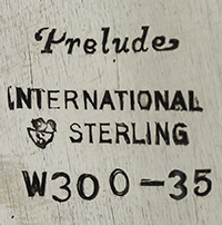 #84202 - Prelude by International 7PC TEA/COF/KTLE/TRAY #12401-6
