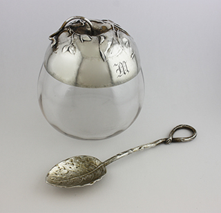 #87228 - Jam Jars by All Makers MAUSER #6609 JAR with SPOON*M/