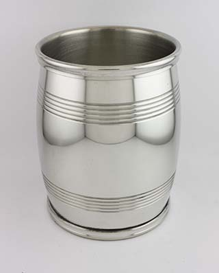 #88318 - Asa Blanchard Collection by Lexington Silver SLIM BARREL BEAKER in Pewter 4