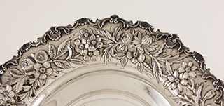 #88402 - Repousse by Kirk BOWL #216 Flat Bottom