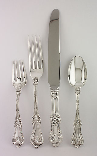 #90111 - Federal Cotillion by Frank Smith 99-PC SET OF FLATWARE, LUNCH